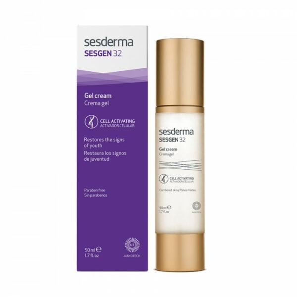 Sesderma Крем-гель для лица клеточный активатор SESGEN 32 Facial cream gel, 50 мл