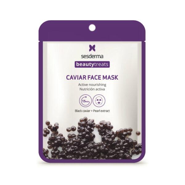 Sesderma Маска питательная для лица Black caviar face mask, 1 шт