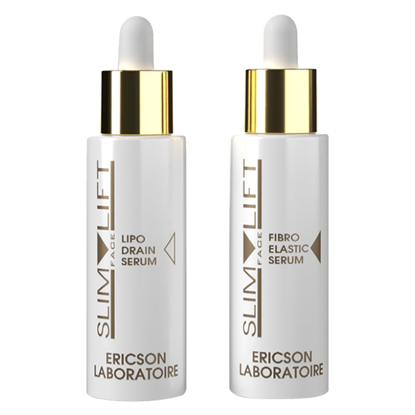 Ericson Laboratoire Slim Face Lift Набор сывороток для восстановления овала лица, 30 мл + 30 мл