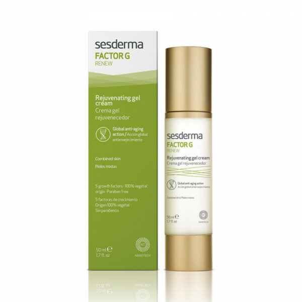 Sesderma Омолаживающий крем-гель FACTOR G RENEW Rejuvenating gel cream, 50 мл