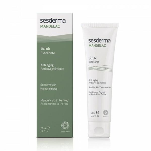 Sesderma MANDELAC Scrub face and body Скраб для лица и тела, 50 мл