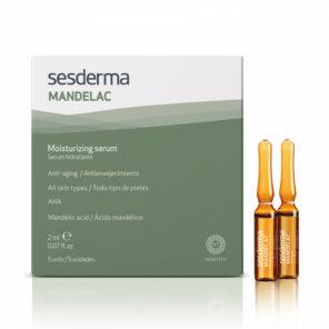 Sesderma MANDELAC Moisturizing serum Увлажняющая сыворотка, 2 мл х 5 ампул