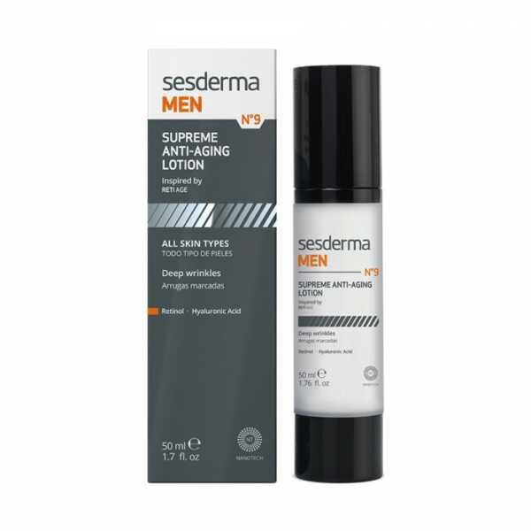 Sesderma MEN Supreme anti-aging lotion Антивозрастной лосьон, 50 мл