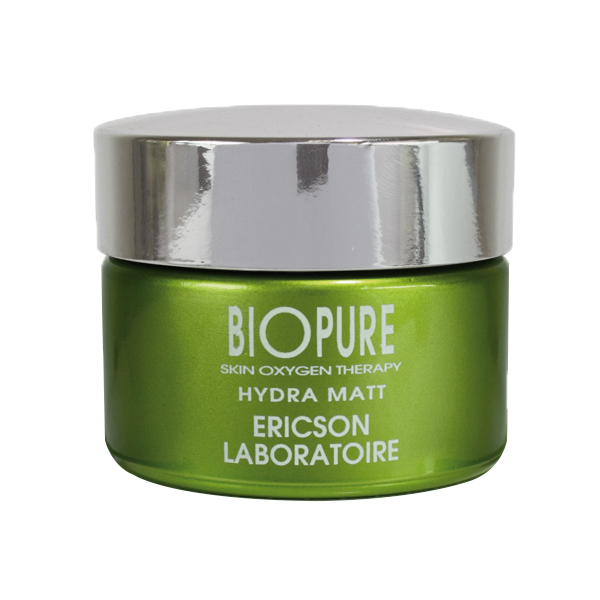 Ericson Laboratoire Biopure Матирующий крем для кожи с жирным блеском, 50 мл