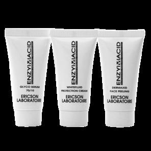 Ericson Laboratoire Enzymacid Mini-kit Мини-набор для обновления кожи лица, 10 мл + 5 мл + 10 мл