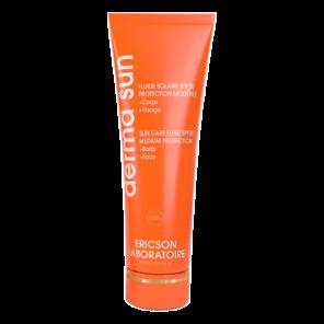 Ericson Laboratoire Derma Sun Солнцезащитный флюид SPF20 для лица и тела, 150 мл