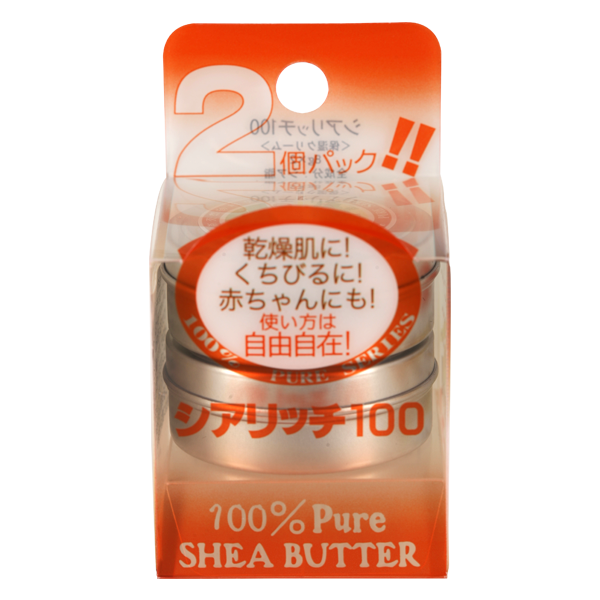 La Mente 100% pure shea butter Масло Ши, 8 гр х 2 шт