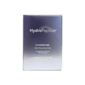Hydropeptide 5X Power Peel экстра-омолаживающий пилинг на основе специального обновляющего комплекса 5X, пептидов и энзимов, 30 салфеток