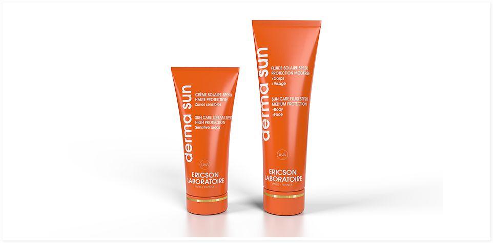 Ericson Laboratoire Derma Sun Солнцезащитный крем для особо чувствительных зон SPF50, 50 мл