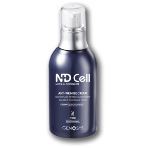 Genosys ND Cell anti-wrinkle cream special care for neck and decollete Антивозрастной крем для шеи и зоны декольте, 50 мл