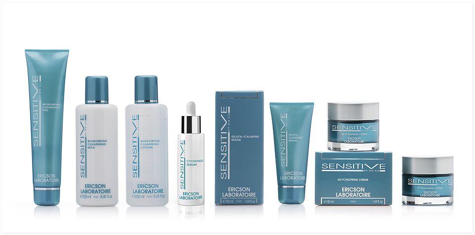 Ericson Laboratoire Sensitive Pro Mini-kit Мини-набор для чувствительной кожи, 10 мл + 10 мл + 10 мл