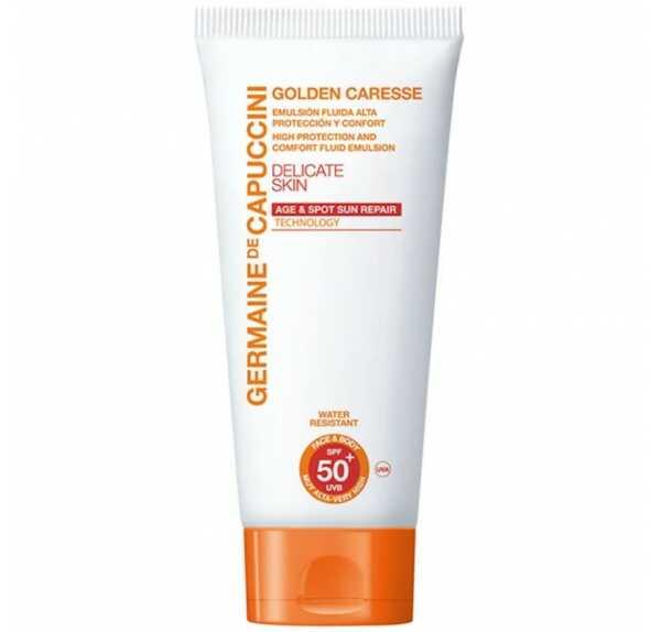 Germaine de Capuccini Солнцезащитный крем с повышенной степенью защиты SPF50+ Golden Caresse, 50 мл