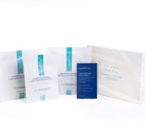 Hydropeptide Набор гидрогелевых патчей и масок для глаз (8 шт), лица (1 шт), шеи (1 шт) и декольте (1 шт)