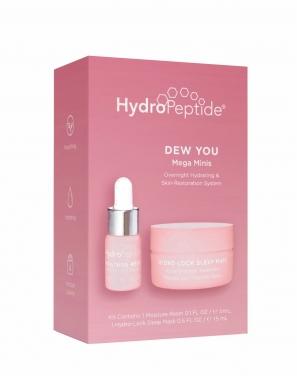 Hydropeptide Мини набор для интенсивного увлажнения и восстановления кожи (Ночная маска с «королевским» пептидом - 15 мл, Комплекс восстанавливающих масел - 3 мл)