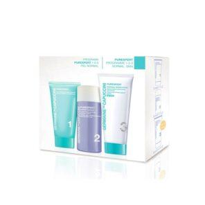 Набор Germaine de Capuccini Программа Purexpert 1-2-3 для нормальной кожи (крем с тоном), 30 мл + 50 мл + 50 мл