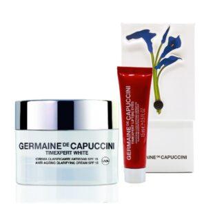 Набор Germaine de Capuccini Борьба с пигментацией TimExpert White SPF15, 50 мл + 15 мл