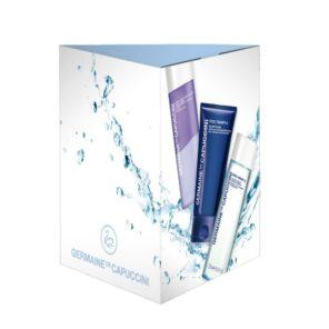 Набор Germaine de Capuccini Excel Therapy O2 для жителя мегаполиса - очищаем кожу правильно, 150 мл + 125 мл + 125 мл