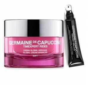 Набор Germaine de Capuccini TIMEXPERT RIDES Крем легкий для нормальной кожи + TIMEXPERT SRNS Крем для глаз с детокс-формулой, 50 мл + 15 мл