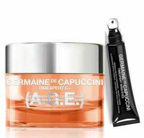 Набор Germaine de Capuccini TIMEXPERT C+ Крем восстанавливающий + TIMEXPERT SRNS Крем для глаз с детокс-формулой, 50 мл + 15 мл