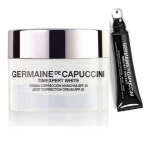 Набор Germaine de Capuccini TIMEXPERT WHITE Крем для коррекции пигментных пятен SPF20 + TIMEXPERT SRNS Крем для глаз с детокс-формулой, 50 мл + 15 мл