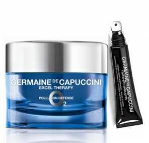Набор Germaine de Capuccini EXCEL THERAPY O2 Крем восстанавливающий для лица + TIMEXPERT SRNS Крем для глаз с детокс-формулой, 50 мл + 15 мл