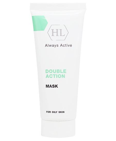 Holy Land DOUBLE ACTION Mask Очищающая, сокращающая поры маска для жирной проблемной кожи, 70 мл