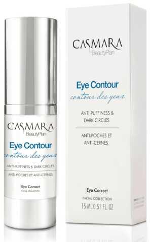 Casmara Eye contour anti-puffiness and dark circles gel - Касмара Гель для области вокруг глаз корректирующий, 15 мл