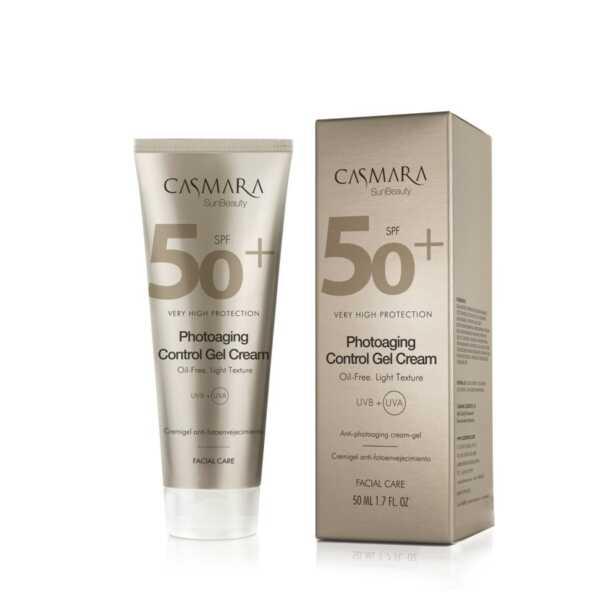 Casmara Photoaging control gel cream SPF50 - Касмара Гель-крем против фотостарения для лица СЗФ50, 50 мл