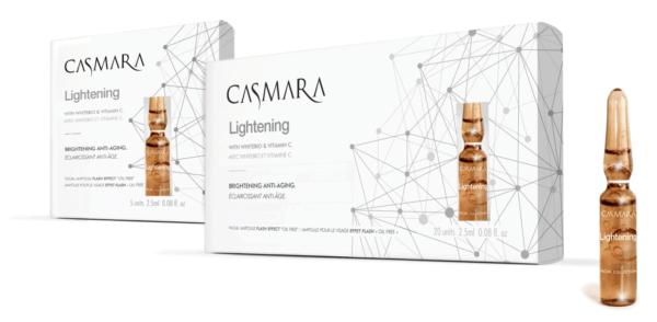 Casmara Lightening serum ampoule - Касмара Концентрат «Мгновенное свечение», 20 ампул х 2,5 мл