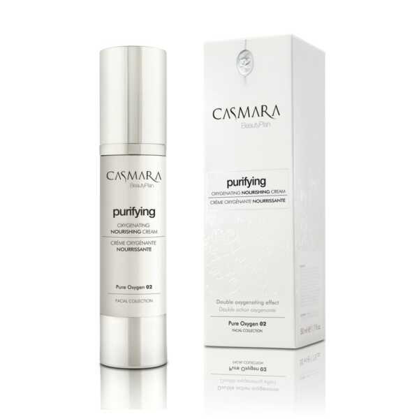 Casmara Purifying oxygeneting nourishing cream - Касмара Питательный кислородный крем, 50 мл