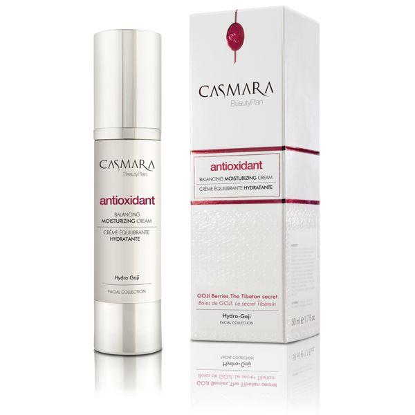 Casmara Antioxidant balancing moisturising cream - Касмара Увлажняющий крем «Баланс», 50 мл