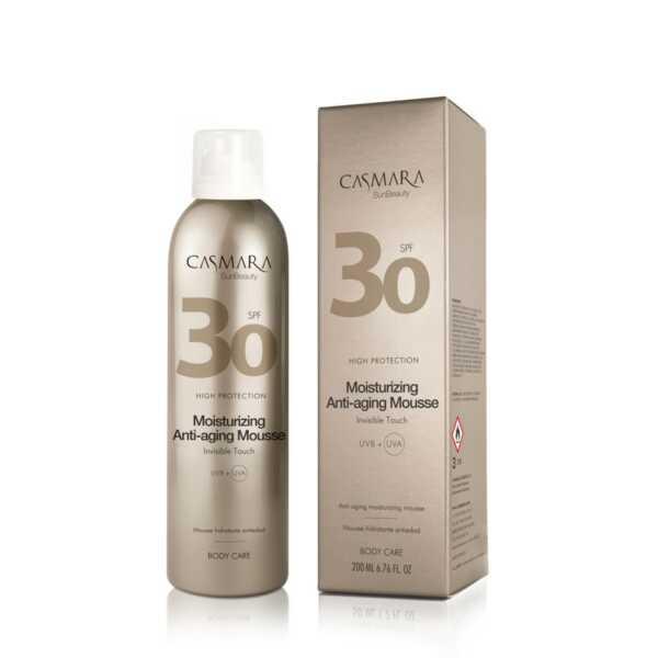 Casmara Moisturizing anti-aging mousse SPF30 - Касмара Увлажняющий противовозрастной мусс для тела СЗФ30, 200 мл