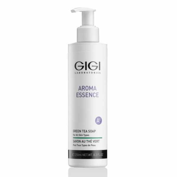 GIGI AROMA ESSENCE Soap Green tea for all skin Мыло Зеленый чай для всех типов кожи, 250 мл