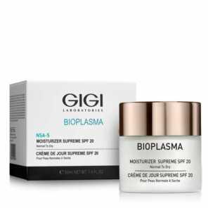 GIGI BIOPLASMA Moist Supreme SPF-20 Крем увлажняющий Биоплазма SPF20 для норм.и сухой кожи, 50 мл