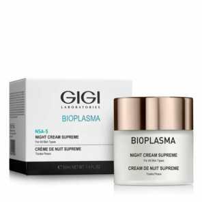 GIGI BIOPLASMA Night Cream Supreme Крем ночной Биоплазма Суприм, 50 мл