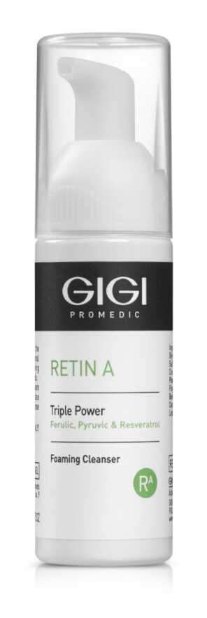 GIGI RETIN A Triple Power Foaming Cleanser Мусс очищающий Тройная Сила, 50 мл