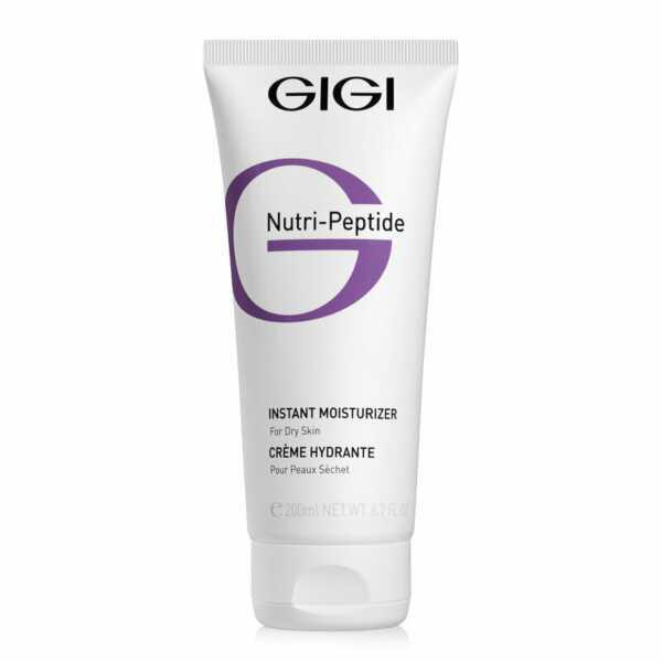 GIGI NUTRI-PEPTIDE Instant Moisturizer for DRY Skin  Крем мгновенное увлажнение Нутри Пептид для сухой кожи, 200 мл