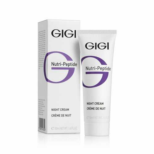 GIGI NUTRI-PEPTIDE Night Cream Крем ночной пептидный, 50 мл