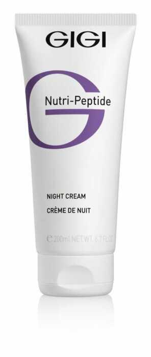 GIGI NUTRI-PEPTIDE Night Cream Крем ночной пептидный, 200 мл