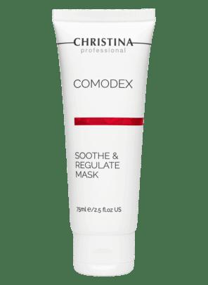 Christina Comodex Soothe & Regulate Mask Успокаивающая себорегулирующая маска, 75 мл