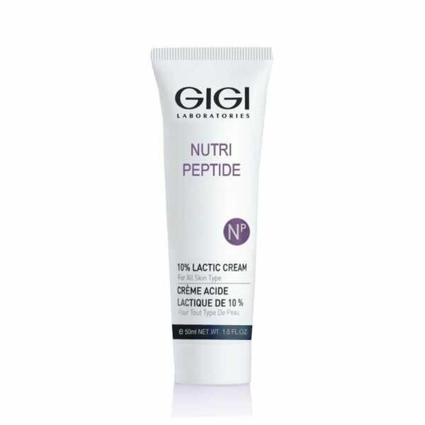 GIGI NUTRI-PEPTIDE Lactic cream Крем с 10% молочной кислотой, 50 мл