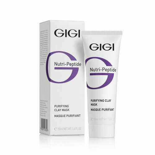 GIGI NUTRI-PEPTIDE Purifying Clay Mask Oily Skin Маска очищающая глиняная Нутри-Пептид, 50 мл