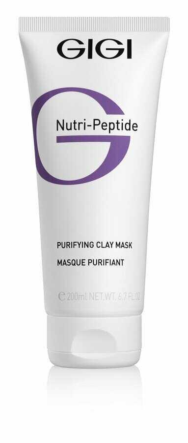GIGI NUTRI-PEPTIDE Purifying Clay Mask Oily Skin Маска очищающая глиняная Нутри-Пептид, 200 мл