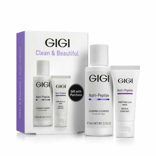 GIGI NUTRI-PEPTIDE Travel Kit | Набор Нутри-Пептид для очищения кожи, 60 мл+ 15 мл