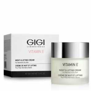 GIGI VITAMIN E Night & Lifting Cream Крем ночной лифтинговый Витамин Е, 50 мл