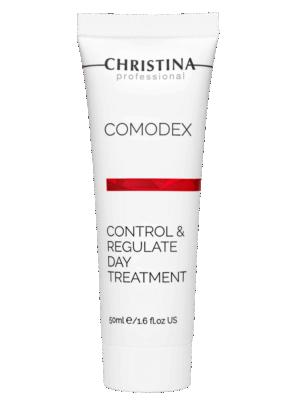 Christina Comodex Control & Regulate Day Treatment Дневная регулирующая сыворотка-контроль, 50 мл