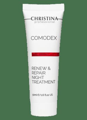 Christina Comodex Renew & Repair Night Treatment Ночная обновляющая сыворотка-восстановлениe, 50 мл