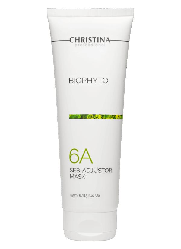 Christina Bio Phyto Seb-Adjustor Mask Себорегулирующая маска (шаг 6а), 250 мл