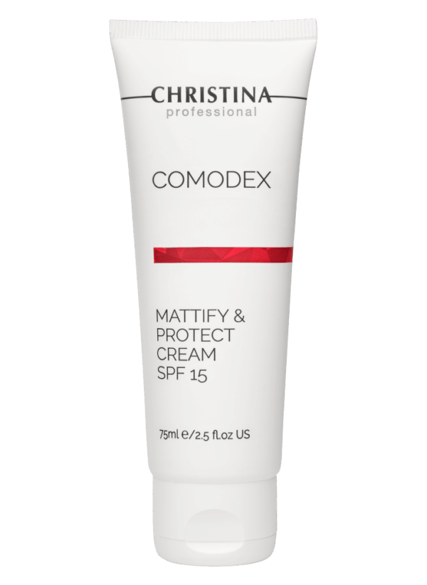 Christina Comodex Mattify & Protect Cream SPF 15 Матирующий защитный крем SPF 15, 75 мл