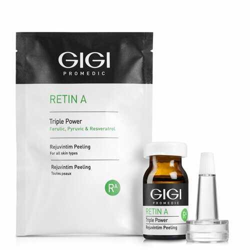 GIGI RETIN A Triple Power Rejuvintim Peeling Пилинг RejuvIntim омолаживающий для интимных зон, 5 мл 1 штука
